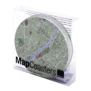 Paris Map - Map Coasters Thumbnail 3