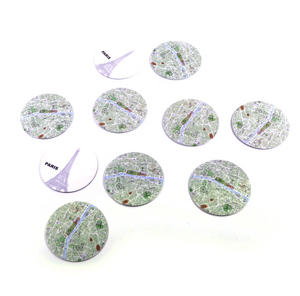 Paris Map - Map Coasters Thumbnail 4