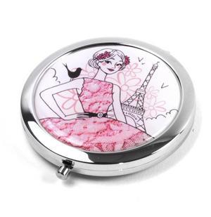 Parisienne! La Romantique - Compact Mirror / Miroir de poche Thumbnail 2