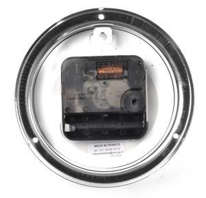 Classic Black on White Dial Chromed Tide Clock  - 115mm Neptune's Tide Clock TC 1000 D -CH Thumbnail 2