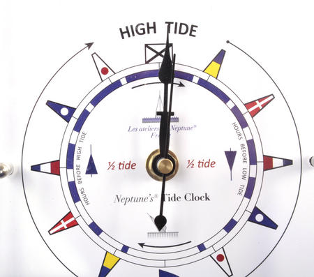 Standing Flag Dial Tide Clock 150mm x 150mm TC 150 C -ACR