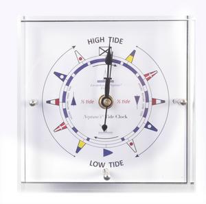 Standing Flag Dial Tide Clock 150mm x 150mm TC 150 C -ACR Thumbnail 5
