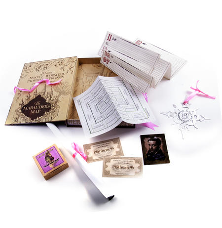 Hermione Granger Film Artefact Box - A Trove of Replica Harry Potter Documents and Keepsakes
