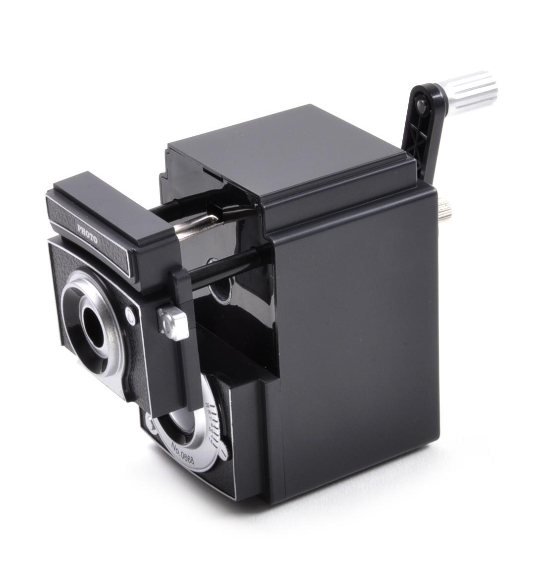 Retro Rolleiflex Camera Pencil Sharpener | Pink Cat Shop