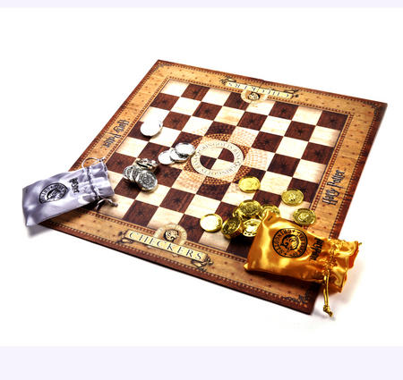 Harry Potter Gringotts Bank Checkers Set