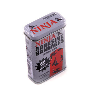 Ninja Adhesive Bandages- First Aid In A Tin - Plasters / Band Aids Thumbnail 3