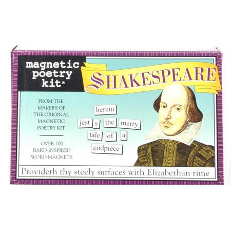 Shakespeare Fridge Magnet Set - Fridge Poetry