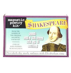 Shakespeare Fridge Magnet Set - Fridge Poetry Thumbnail 1