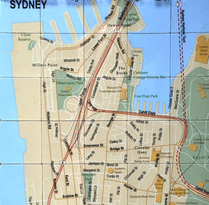 Sydney City Map Fridge Magnet Puzzle - Learn the City Map Knowledge with Fridge Magnets Thumbnail 2