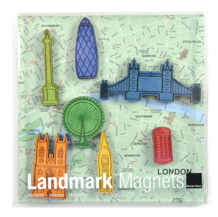 London Landmark Fridge Magnets - Landmarks of the fabulous city