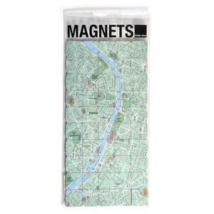 Paris City Map Fridge Magnet Puzzle - Learn the City Map Knowledge with Fridge Magnets Thumbnail 1
