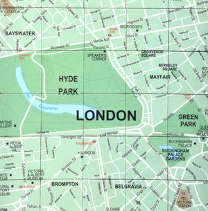 London City Map Fridge Magnet Puzzle - Learn the City Map Knowledge with Fridge Magnets Thumbnail 2