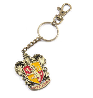 Harry Potter Gryffindor Crest Keychain Noble Collection Thumbnail 2