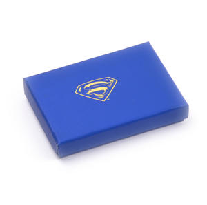 Superman Returns Silver Logo Deluxe Boxed Steel Key Fob Thumbnail 4