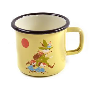 Snufkin - Yellow Moomin Muurla Enamel Mug - 3.7 cl Thumbnail 1