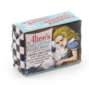 Alice's Tiny Little Hand Soap - Alice in Wonderland Soap - Grows Smaller and Smaller Thumbnail 3