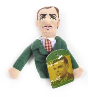 Alan Turing Finger Puppet & Fridge Magnet Thumbnail 1