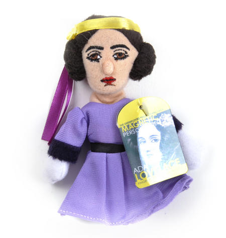 Ada Lovelace Finger Puppet & Fridge Magnet
