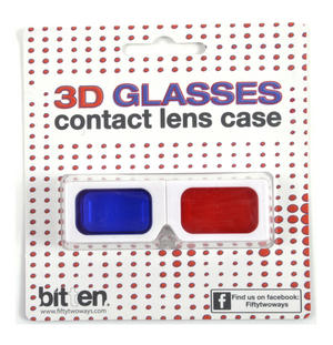 3D Glasses Contact Lens Case Thumbnail 2