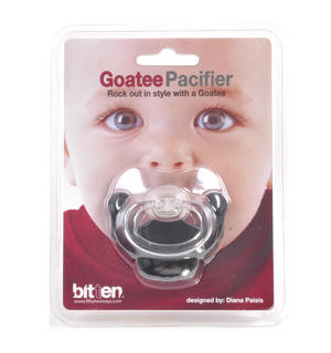 Dummy Pacifier - Goatee Thumbnail 1