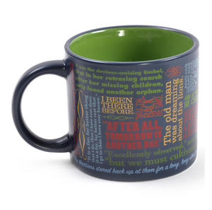 Greatest Last Lines of Literature Ever Mug - Gatsby, Moby Dick, Quixote, 1984 etc Thumbnail 5
