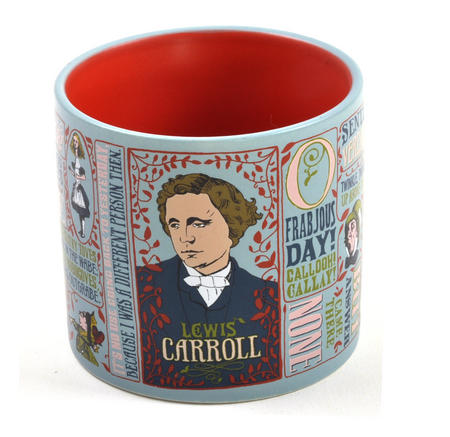 Lewis Carroll Mug  - Alice In Wonderland Author Mug