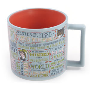 Lewis Carroll Mug  - Alice In Wonderland Author Mug Thumbnail 2