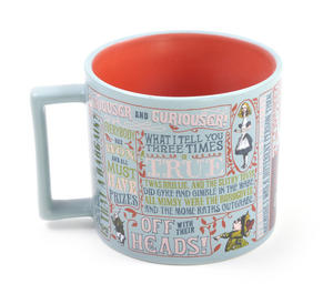 Lewis Carroll Mug  - Alice In Wonderland Author Mug Thumbnail 4