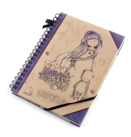 Dear Alice Sketchbook Journal by Gorjuss