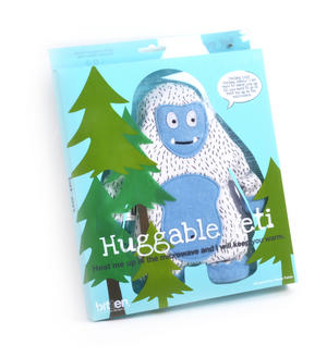 Huggable Yeti - Microwavable Soft Snow Monster Thumbnail 2