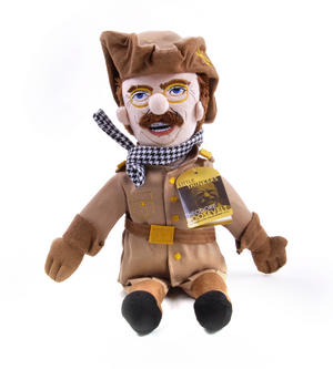 Theodore Roosevelt Soft Toy - Little Thinkers Doll Thumbnail 2