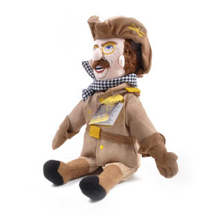 Theodore Roosevelt Soft Toy - Little Thinkers Doll Thumbnail 3