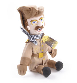 Theodore Roosevelt Soft Toy - Little Thinkers Doll Thumbnail 4