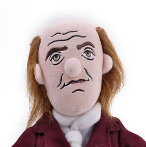 Benjamin Franklin Soft Toy - Little Thinkers Doll