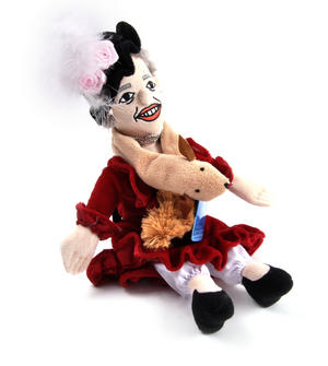 Eleanor Roosevelt Soft Toy - Little Thinkers Doll Thumbnail 4
