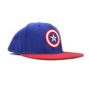 Captain America Logo Marvel Age of Ultron Avengers Snap Back Cap Thumbnail 2