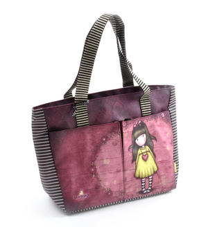 Heartfelt Shopper Bag With Pockets By Gorjuss Thumbnail 4