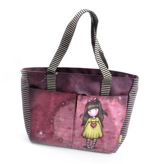 Heartfelt Shopper Bag With Pockets By Gorjuss Thumbnail 5