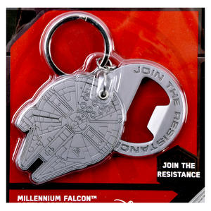 Star Wars Join the Resistance Millenium Falcon Solid Metal Bottle Opener Thumbnail 2