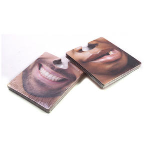 New Face Mats - 40 Faces On Beer Mats You Can Wear Thumbnail 2