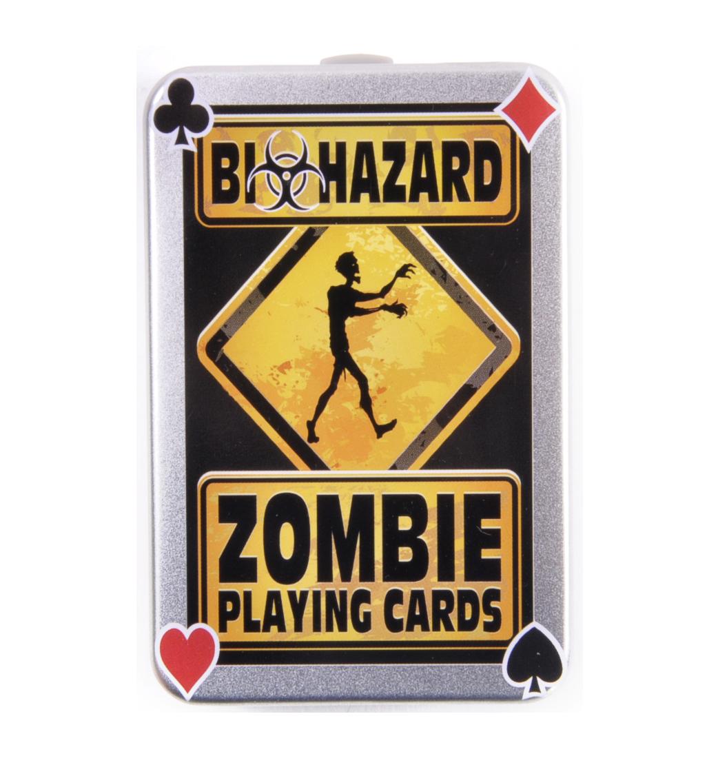 Biohazard zombie apocalypse playing cards pink cat shop biohazard zombie apocalypse playing cards kristyandbryce Choice Image