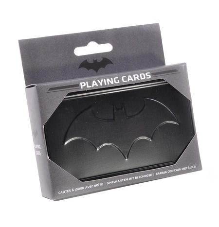 Batman Metal Box Playing Cards
