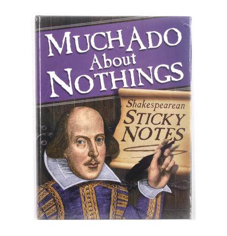 Much Ado About Nothings - Shakespeare Sticky Notes