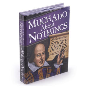 Much Ado About Nothings - Shakespeare Sticky Notes Thumbnail 2