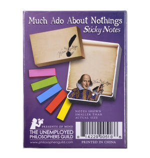 Much Ado About Nothings - Shakespeare Sticky Notes Thumbnail 3