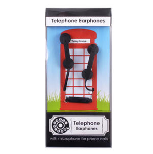 Telephone Earphones with Microphone for Phone Calls Thumbnail 1