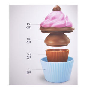 Right Cake Cupcake Measuring Cups Thumbnail 2