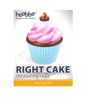 Right Cake Cupcake Measuring Cups Thumbnail 3