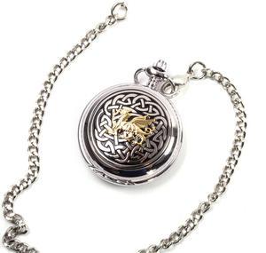 Welsh Dragon Cymru Wales Pocket Watch Thumbnail 2