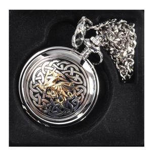 Welsh Dragon Cymru Wales Pocket Watch Thumbnail 4